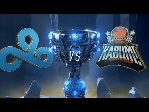 C9 vs. KBM | Play-In Groups | 2018 World Championship | Cloud9 vs. KaBuM! e-Sports (2018)