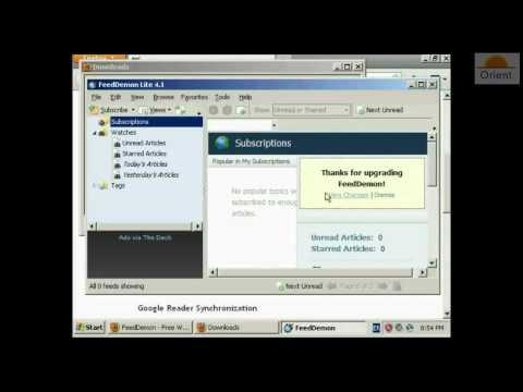 ماهي خدمة RSS وكيفية الأشتراك و استخدم البرنامج المناسب