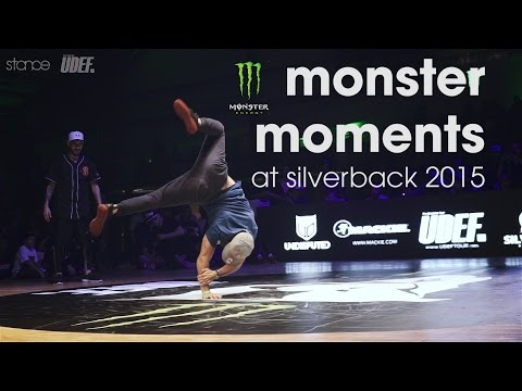 MONSTER MOMENTS at Silverback 2015 // Pro Breaking Tour // .stance