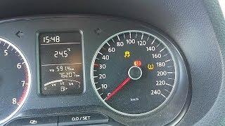 Voyant ABS et ESP allumé sur VW PASSAT.