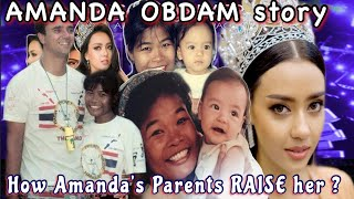 Amanda Obdam Childhood from 1 to 27 year old ( Biography, lifestyle ) - Miss Universe Thailand 2020