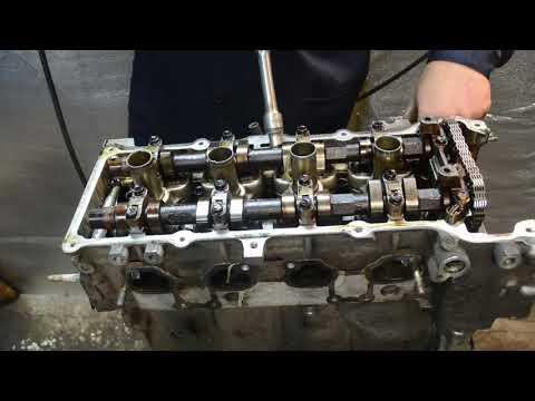Разбор двигателя QG18-DE