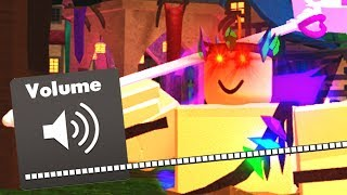 Creating the LOUDEST Sound Pack For ROBLOX Dungeon Quest...