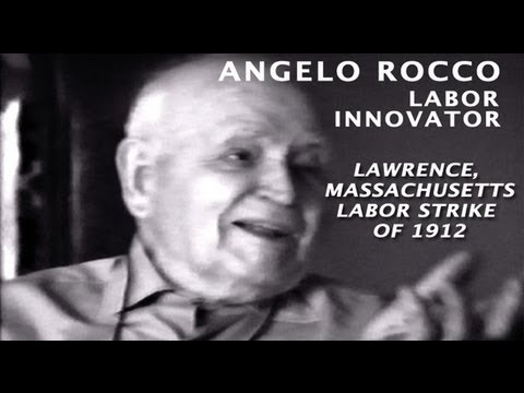 100th ANNIVERSARY - Angelo Rocco: The Lawrence Labor Strike of 1912
