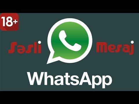 18+ WhatsApp Gülməli Səsli Mesajlar Və Videolar