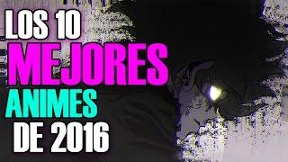 Los 10 mejores animes del 2016