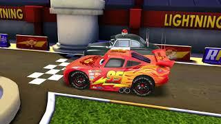 Lightning Mcqueen Vs Police Sheriff & Monster Truck Disney Racing Cars for Kids