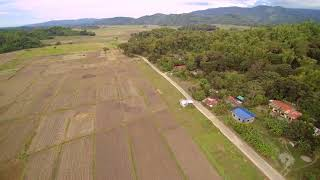 Aerial views of Calincamasan, La Union