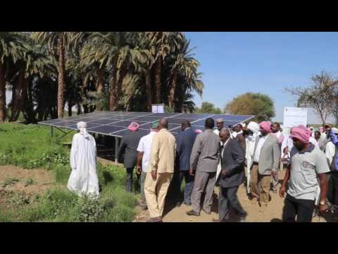 Celebrating World Environment Day 2017: Solar for Agriculture in Sudan