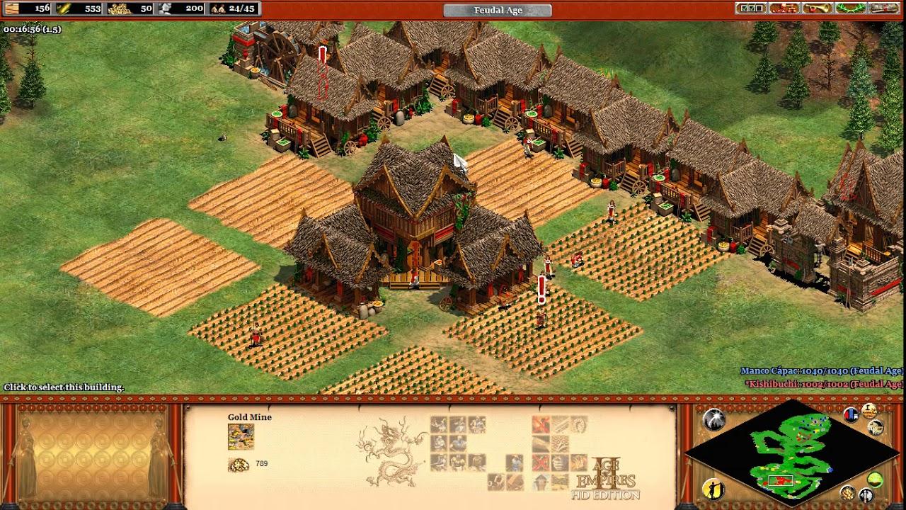 Chiến thuật Age of Empires II – Du kích phá kinh tế sớm
