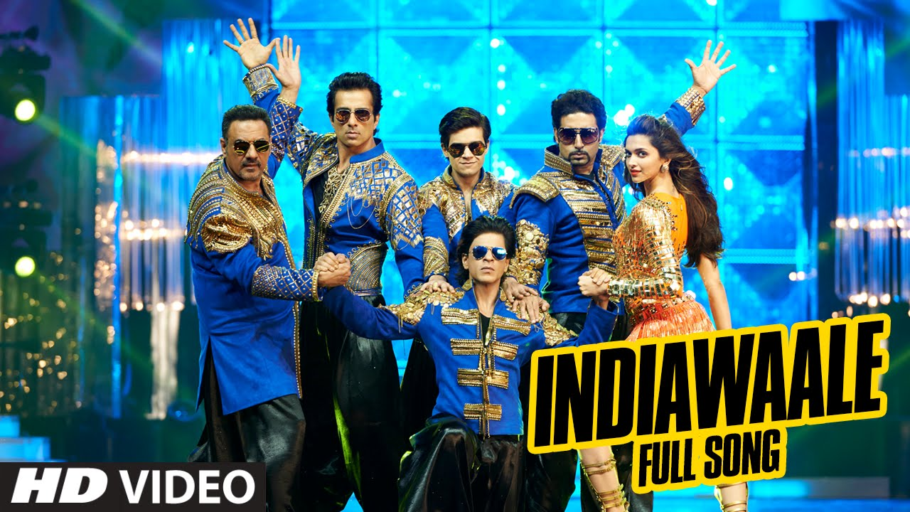 official india waale full video song happy new year shah rukh khan deepika padukone youtube