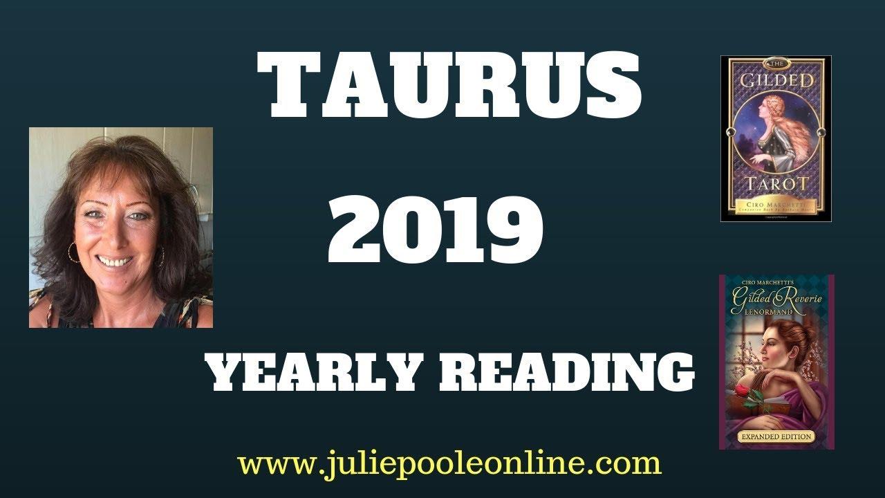 taurus tarot card 2019