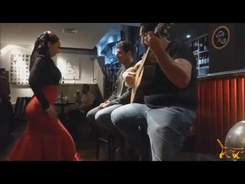 Flamenco Music at the Vino Mío Restaurant Malaga
