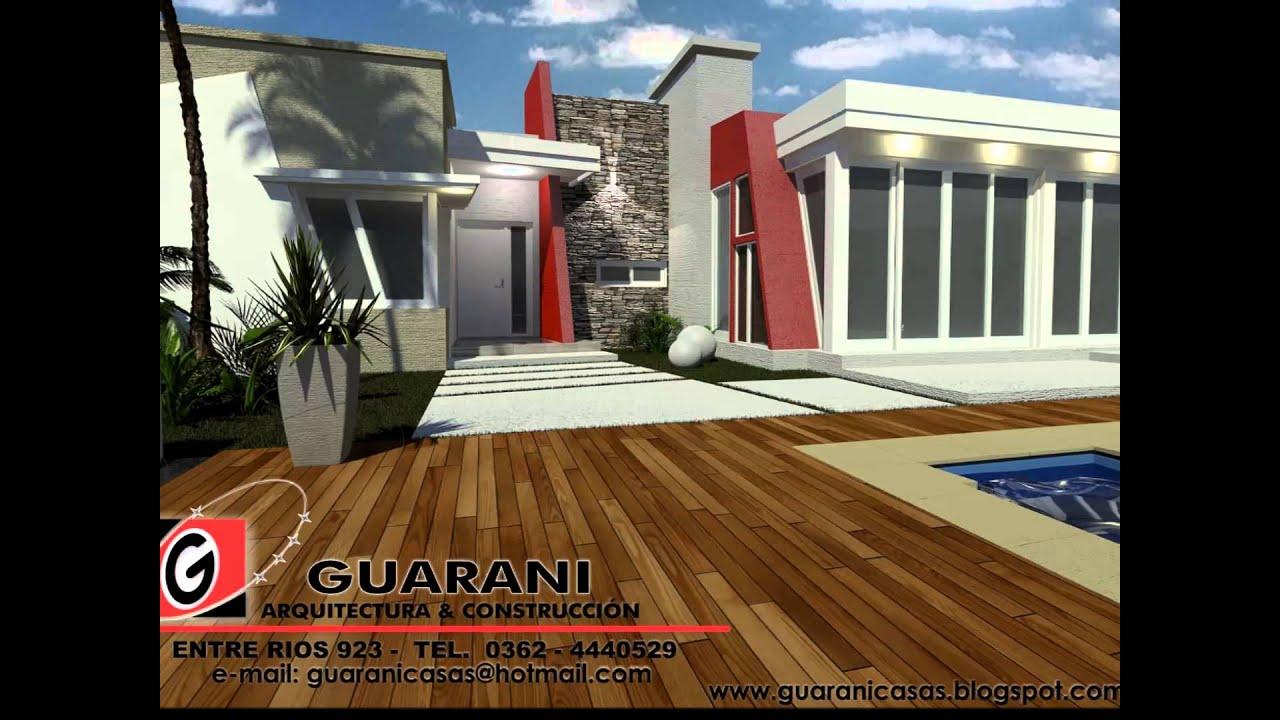 Quinchos y piscinas youtube for Piscinas semienterradas