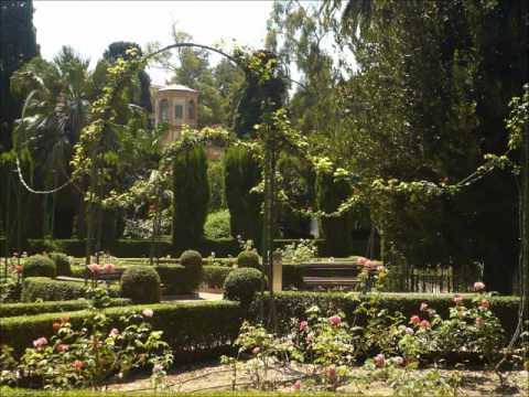 Jardines de espa a youtube for Jardines de madrid