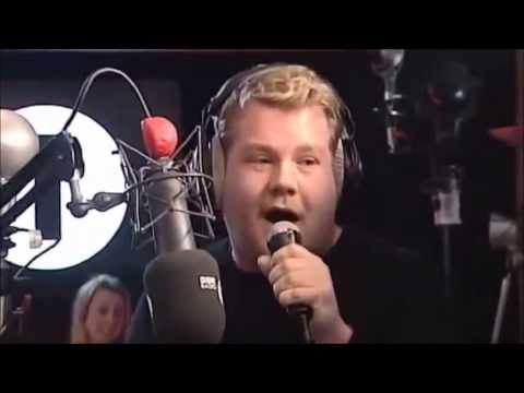 James Corden Sings Gold Digger on Radio 1! (Kanye West Song)