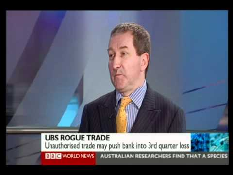 Global view of UBS traders loss of  $1.8bn - BBC World - 15th Sept 2011