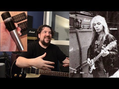 SECRET to the early IRON MAIDEN guitar sound REVEALED!
