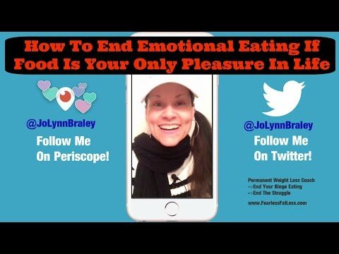 How To End Emotional Eating If Food Is Your Only Pleasure In Life