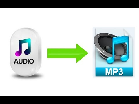 How to Convert Audio Files to MP3 (ONLINE)