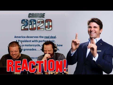 Cruise 2020 - Run Tom Run! | REACTION VIDEO | The Movie Cranks