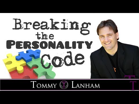 Tommy Lanham,  Breaking the Personality Code