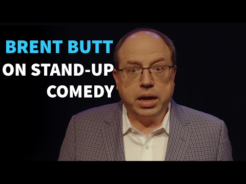Brent Butt on stand-up comedy and filthy humour