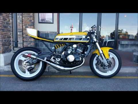 """cafe racers of pe"""" presents mark jeppesen's revamped rd350 - youtube"""