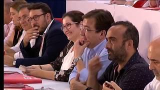 José Luis Ábalos inaugura el XII Congreso de los socialistas extremeños