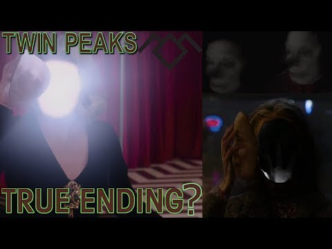 """Twin Peaks The Return Synced Ending [Synced 17&18] """"Happy Ending"""" Theory"""