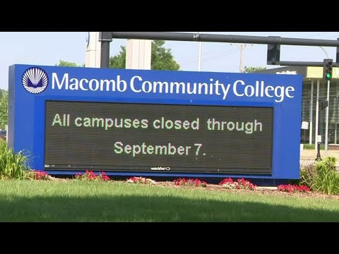 A look at how Macomb Community College is preparing for fall return amid pandemic
