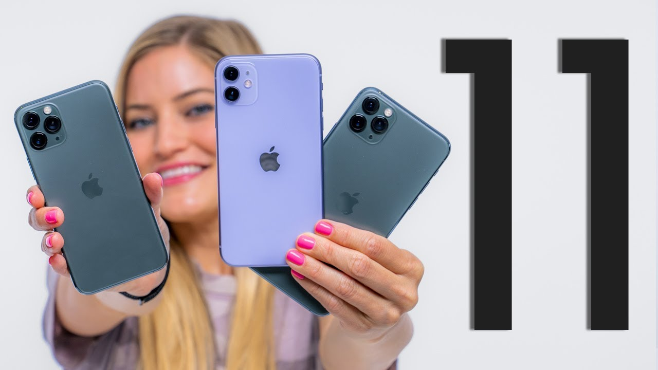 Unboxing all 3 new iPhone 11