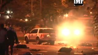 #16J Enfrentamientos en la #AvLara de  #Barquisimeto