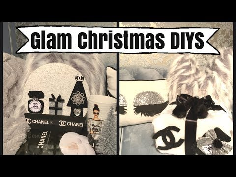GLAM CHRISTMAS DIY PROJECTS | CHELLESGLAMHOME