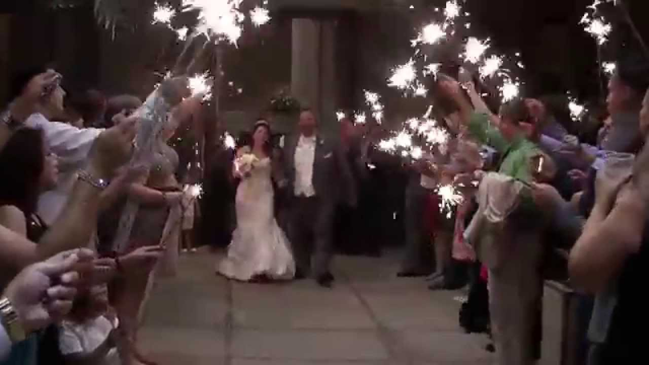 Sparkler Sendoff At Scottsdale Wedding Of Russ And Lida