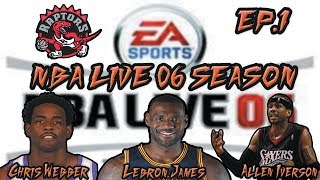 NBA LIVE 06 Season EP.1 | Beginning