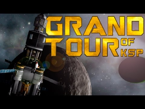 Grand Tour: Going Everywhere in KSP with Mining!