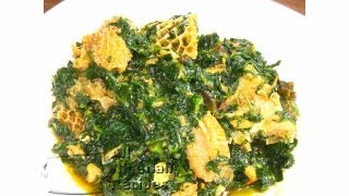 nigerian efo riro   all nigerian recipes