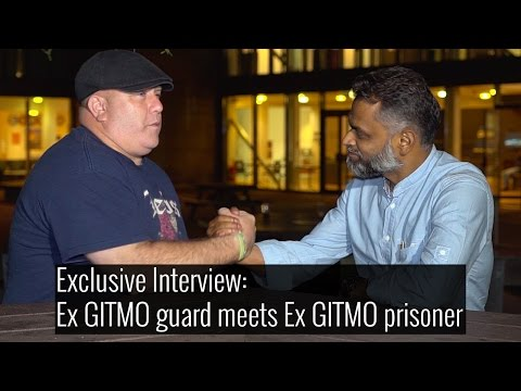 Ex-GITMO guard and ex-GITMO prisoner reunite