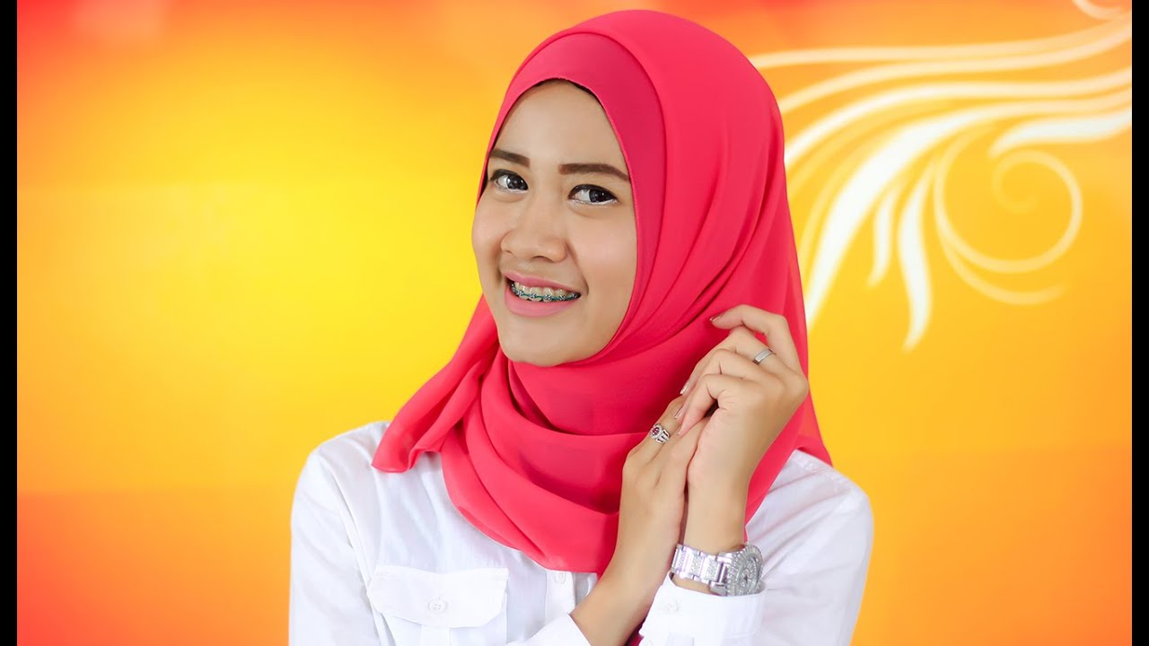 Hijab Pashmina Simple Untuk Ke Kampus YouTube