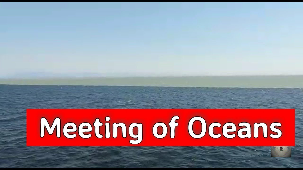 places to explore meeting of pacific and atlantic ocean youtube