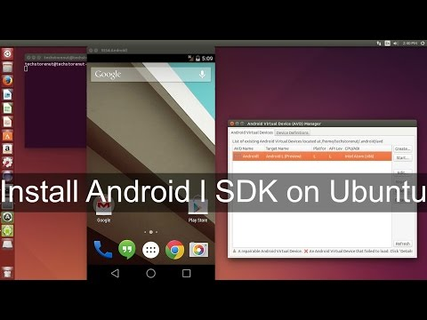 Install Android 5.0 Lollipop on Ubuntu Pc