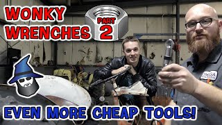 Wonky Wrenches Part 2! The CAR WIZARD tests even more odd, 'miracle'' tools