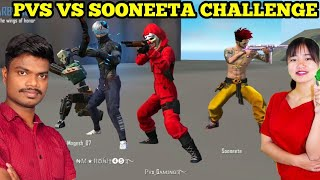 Free Fire 40 Kills Challenge with Sooneeta in Team Death Match Tricks In Tamil