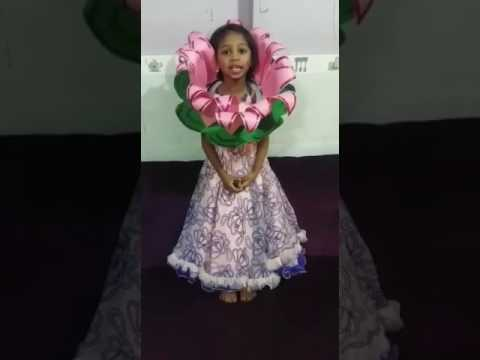 Lotus Flower Fancy Dress Youtube