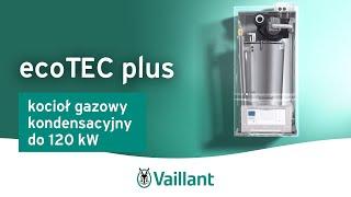 Kocioł gazowy kondensacyjny do 120 kW, ecoTEC plus - Vaillant Polska