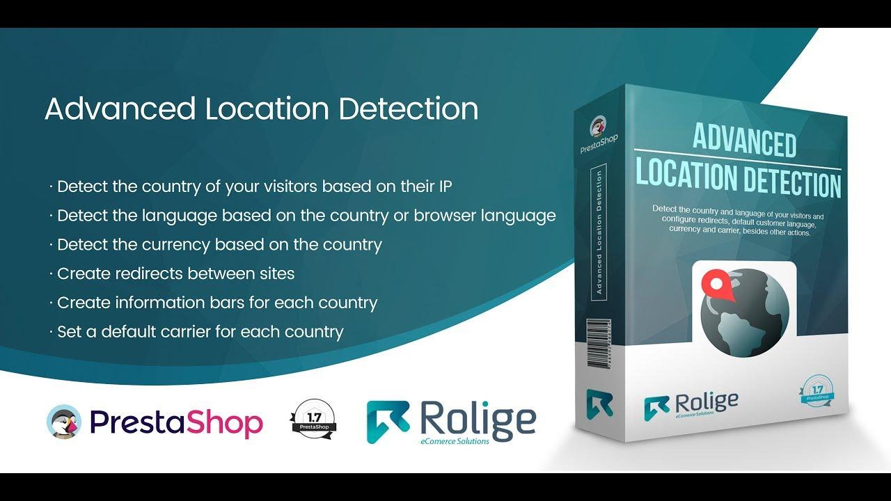 Advanced Location Detection Module for PrestaShop