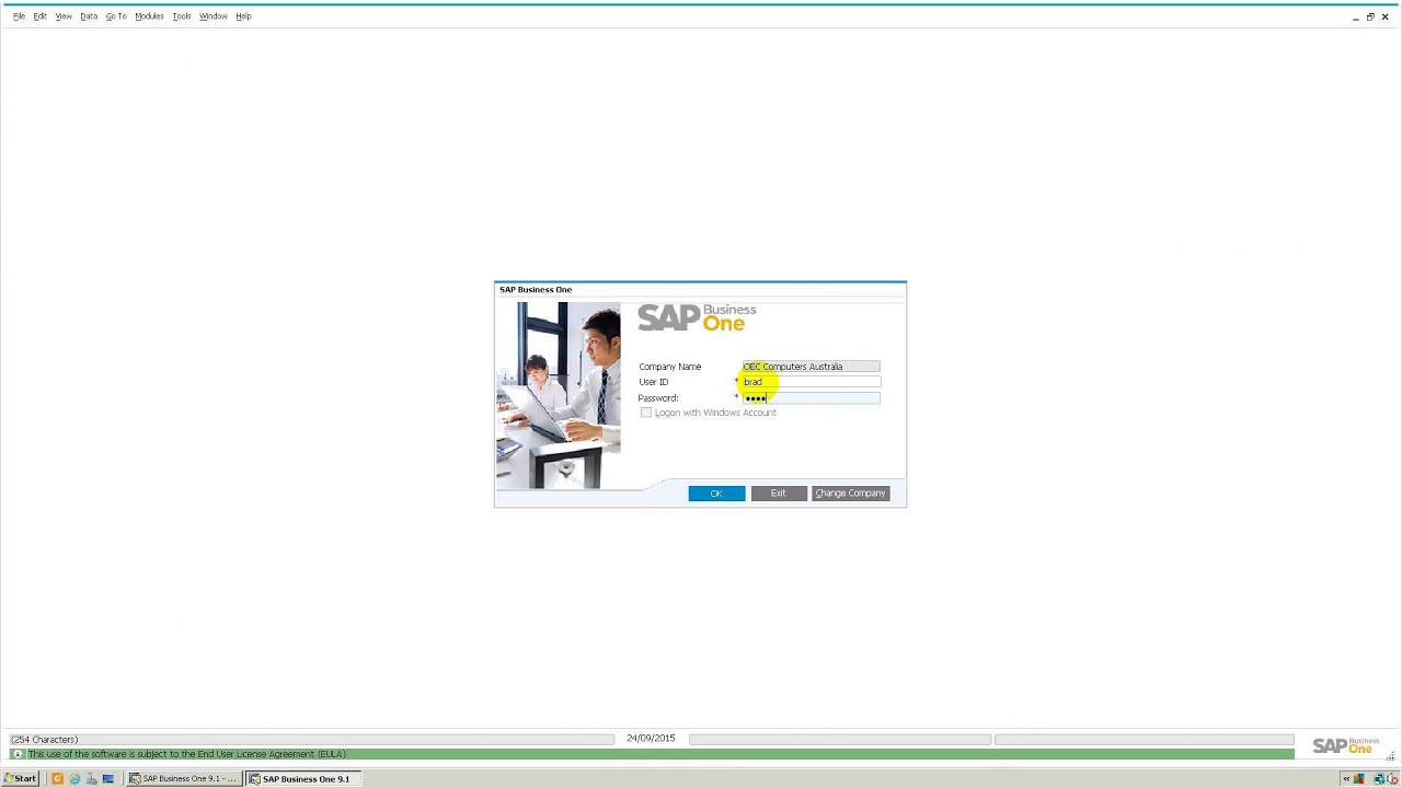 SAP Business One user admin  Setting up users, licenses in