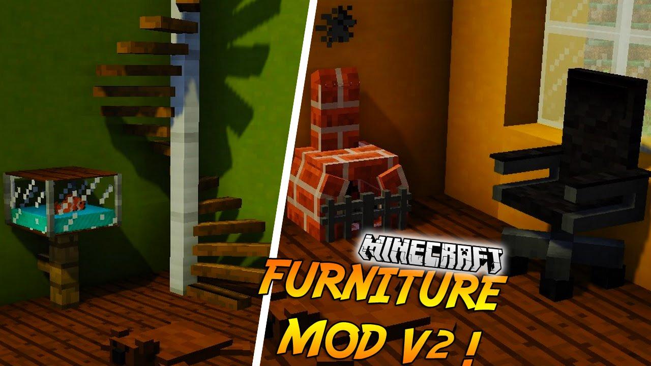 chaise de bureau minecraft