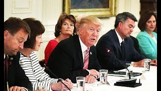 Meeting Gets Awkward When Trump Knows NOTHING About Trumpcare